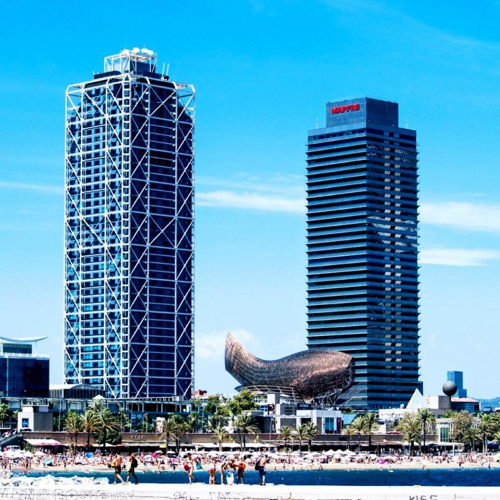 Barcelona Skyline - Port Olímpic