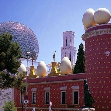 Dalí Museum Eggs, Oscars, Geodesic Dome