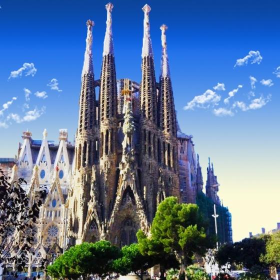 Sagrada Família (quadrada)